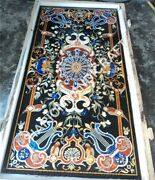 4 And039x2and039 Noir Marbre Dandicircner Cafandeacute Table Top Pietredure Marqueterie Inlaid Home Arts