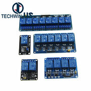 5v 1/2/4/6/8 Channel With Optocoupler Relay Board Module Led For Arduino Senior