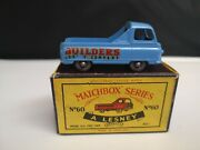 P483-matchbox Lesney No60a Morris J-2 Pickup With And039cand039 Type Box