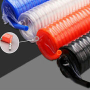 Polyurethane Pu Recoil Pneumatic Spiral Hose Tube With Connector 6x4mm 8x5mm Etc