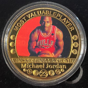 Michael Jordan Mvp Colourized And Gold Plated The Dunk Encapsulated