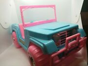 Vintage Fashion Girl Four X Four - Pink Jeep For Barbie Dolls