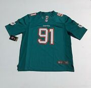 Nike Nfl On Field Jersey Miami Dolphins 91 Cameron Wake