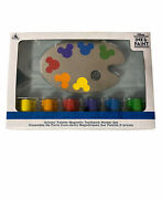 Disney Ink And Paint Artistsandrsquo Palette Magnetic Toothpick Holder Set New