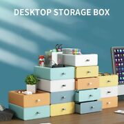 Desktop Storage Box Office Drawer Multi-layer Stationery Colorful Small Desk