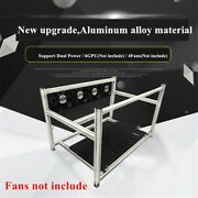Stackable 6 Gpu Open Air Mining Case Computer Frame Bracket For Rig Ethereum Eth