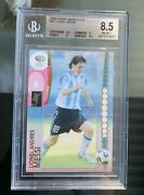 2006 Panini World Cup Germany Lionel Messi 47 Bgs 8.5 Nm-mt+