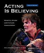 Acting Is Believing Hardcover By Stilson Kenneth L. Clark Larry D. Mcgaw...