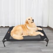Elevated Dog Bed Mesh Cool Breathable Pet Bed Portable Detachable Puppy Sleep