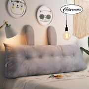 Warm Crystal Fleece Long Pillow Simple Bed Cushion Bed Soft Simplicity Bed 2020