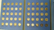 Complete Set Roosevelt Silver Dimes 1946-1964 All 48 Silver Dimes In Folder