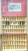 Old Britains England 1950s Lead Changing Of The Guard 83 Piece Boxed Set 1555