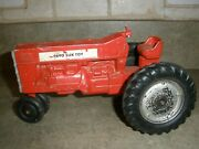Vintage Slik Toy 9890 Red Tractor For Parts Only