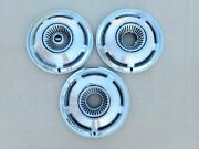 Oem 1970 Ford Car Full 15 Wheelcovers Hubcaps Centercaps Lot Of 3 Free Shipping