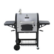 Heavy-duty Charcoal Grill In Black And Stainless Steel Bbq Bar B Que 686 Sq In
