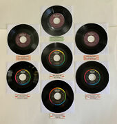 Anne Murray - I Just Fall In Love Again / Cafe 7 45 Vinyl Jukebox Strips 7 Lot