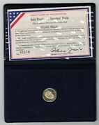 1977 Jimmy Carter Gold Presidential Inaugural Medal 01176