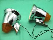 2 X Talbot Berlin With Indicator Porsche Racecar Roadster Metal Housing