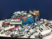 Huge Lot 30 Hess Plastic Toy Trucks Cars Planes Helicopter Small To Large Size