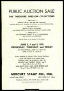 Mercury Stamp Co., Inc. The Theodore Sheldon Collections.
