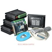 4 Axis Cnc Router Diy Kit 5 Axis Breakout Board 4 Tb6600hg Stepper Motor Driver