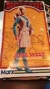 Vintage Marx Jane West Figure W/accessories In Boxed 60's.
