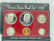 Us Coins Proof Set Bicentennial Edition 1776-1976 In Handsome Plastic Case
