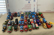 Thomas The Train Lot Of 45 Wooden-diecast-plastic