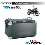 Top Case Black Mytech Raid 55 L With Plate Fastening Bmw F850gs F750gs