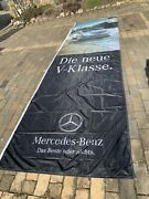 Mercedes Benz Banner Flag From German Autohaus From German Repair Shop