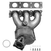 Catalytic Converter With Integrated Exhaust Manifold For 2007-2010 Volvo Xc90 3.