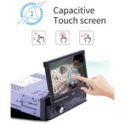 7in 1din Android 10.1 Touch Screen Wifi Bluetooth Gps Navigation Car Mp5 Sale