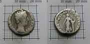 Apollo Ancient Authentic Roman Imperial Silver Coin Commodus 177-192ad 329