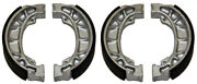 Factory Spec Brand Front And Rear Brake Shoes Fits Honda Mx Bikes 2 Fs-115