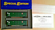 Ho Scale Athearn Se Special Edition Prr/gaex 50and039 Plug Door Boxcars 2313