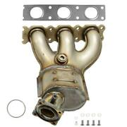 Catalytic Converter With Integrated Exhaust Manifold Fits 2007-2010 Volvo Xc90