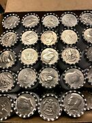 10 Ten Kennedy Half Dollar Unsearched Bank Rolls Possible 90 40 Silver Errors