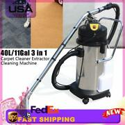 110v 40l Household Dust Cleaner Carpet Sofa Curtain Portable Vacuum Extractor