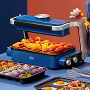 Multifunctional Electric Smokeless Barbecue Grill And Cooking Pot