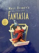 Sealed Rare Disney Fantasia Vhs, 1991, 2-tape Set, Deluxe Collectors Edition