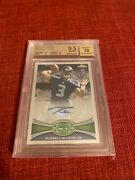 Russell Wilson 2012 Topps Chrome Auto Autograph 40 Bgs 9.5