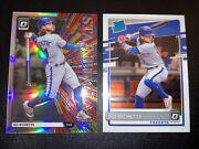 Bo Bichette Lot 2020 Optic Rookie Rc Silver Holo Prizm Stained Glass And Base Jays