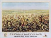 Custerand039s Last Fight Armstrong Custers Last Stand Western Indian War 18x24 🤩