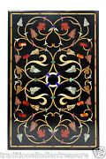2and039x3and039 Marble Dining Coffee Table Top Handmade Design Marquetry Home Decorative