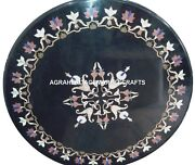 Marble Center Round Table Top Stone Inlay Furniture Christmas Home Decor H2739