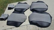 Bmw E10 2002 Upholstery Kit Standard Front And Rear German Vinyl Hounds Tooth