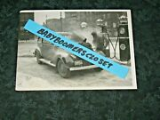 Press Photo Chicago 25 Degrees Below 1936 Cripples Auto And Rail Traffic Gas Pumps