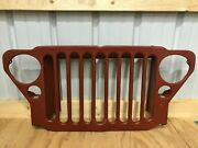 Willys Jeep Front Grill Mb Ford 1941-45 Fit For Willys Jeep