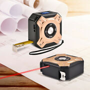 New 40m Laser Rangefinder Steel Tape High Precision Infrared Usb Rechargeable