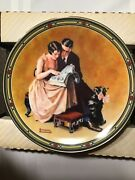 Knowles 1985 17017 D Norman Rockwell American Dream Decorative Collectors Plates